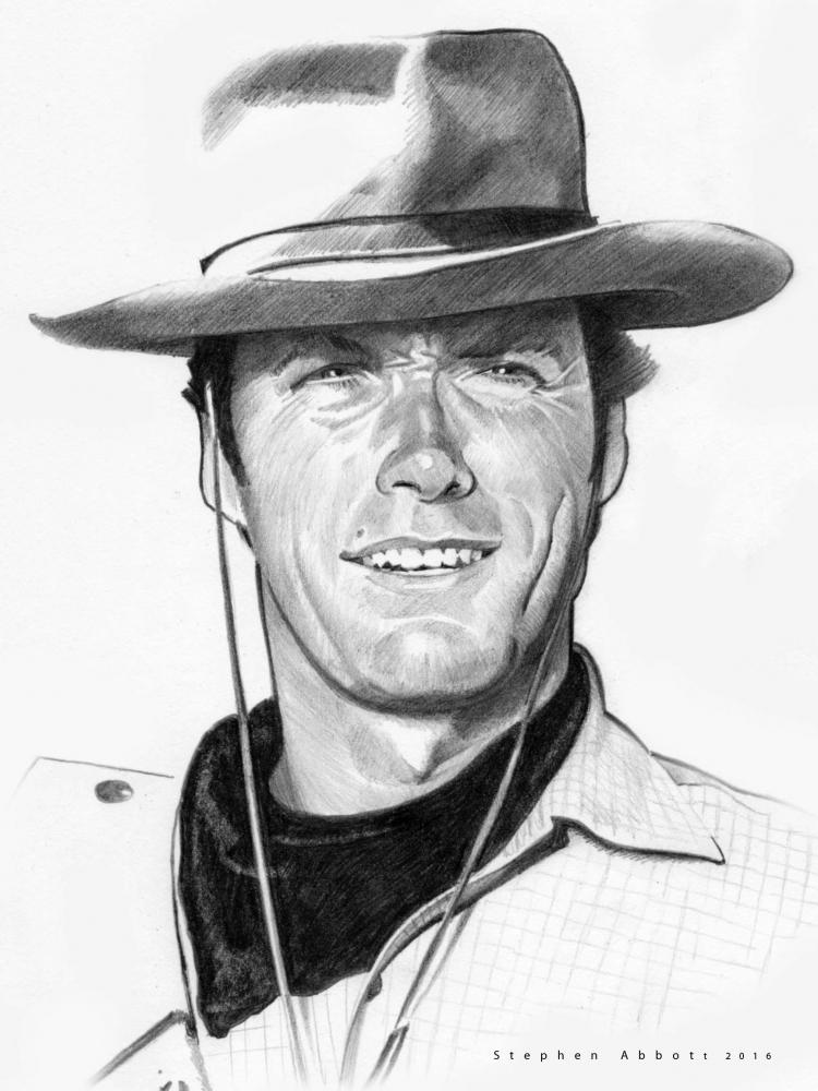 Clint Eastwood by StephenAbbott